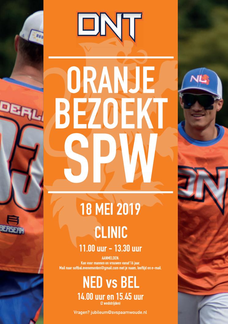 Gratis Slowpitch clinic bij SV Spaarnwoude